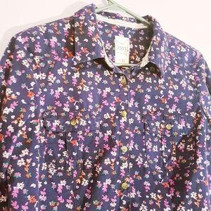 🍭Garage / Floral Button Down